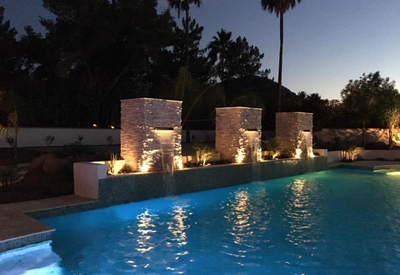 Custom landscape design scottsdale phoenix 2017 professional phoenix landscape and lighting aloadofball Gallery